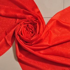 Self Jacquard- Red