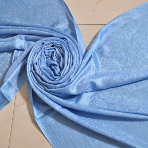 Self Jacquard- Blue
