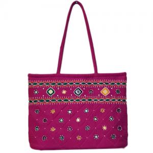 Beautiful Pink Pearl Bag